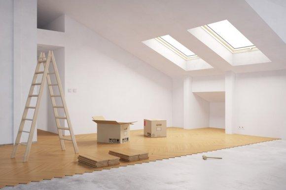 Rénovation de peinture intérieure d'une maison Alès